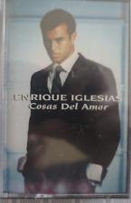 Enrique Iglesias - Cosas del Amor - Cassette New! Sealed! Rare! 1998 Fonovisa