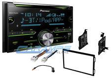 NEW PIONEER STEREO RADIO W CD PLAYER & BLUETOOTH & AUX/USB INPUTS W INSTALL KIT