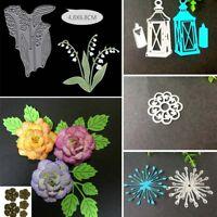 Flower Metal Cutting Dies Stencil Scrapbooking Card Making Craft Embossing DIY