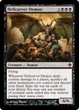 MTG FOIL Hellcarver Demon - NM/M - Rise of the Eldrazi - MTG
