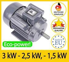 Elektromotor Drehstrommotor, 230V,  Kompressor Motor Asynchronmotor, Auswahl!!!