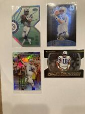 New listing Peyton Manning Insert Lot Numbered Refractors Diecut