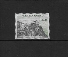 (2) San Marino 1958 500L panorama SG527a cat £170