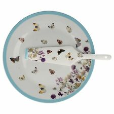 Butterfly meadow cake plate & server LP91062  by LESSER & PAVEY    £6.99
