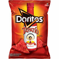 Doritos Tapatio Salsa Picante Hot Sauce Tortilla Chips 9.75Oz (1 Bag)
