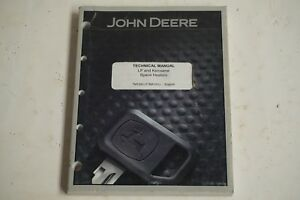 John Deere LP and Kerosene Space Heaters Technical Manual TM1392