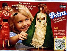 Airfix --Werbung von 1980--AIRFIX-- Petra -- Petra Kleider sind da ! -