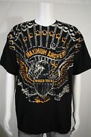 Men's XL Maximum Archery World Tour Pick N Stick Black SS T-shirt