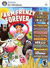 FARM FRENZY FOREVER 10 PACK PC Game DVD-ROM NEW