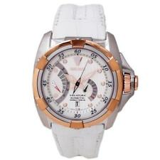 Seiko Men's SRH014 Velatura Kinetic Direct Drive Black Leather Watch