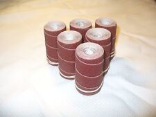 6 Precut sanding strips/rolls for Performax Jet 10-20 Drum Sander. 100 Grit.