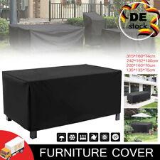 Wasserdichte Plane Gartenmöbelabdeckung Gartenbank Lounge Sofa Couch Sitzbank DE