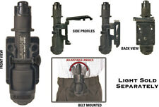 Night Ops Flashlight Holder 75GH00BK Designed to hold many popular tactical ligh