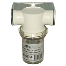 "GROCO 1"" FRESH WATER STRAINER W/PLASTIC BASKET"