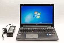 HP EliteBook 8560w i7-2860QM 2.5GHz 8GB 128GB SSD 1080p NVidia Gaming W7 Laptop