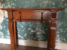 Solid Wood Victorian Antique Fire Surround