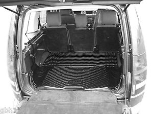 Boot liner load mat Land Rover Discovery 3 III 2004-09 anti slip natural rubber