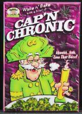 "Cap'n Chronic 2"" X 3"" Fridge / Locker Magnet. Marijuana Cannabis Weed"