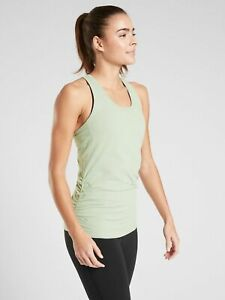 NWT Athleta Speedlight Tank, Opal Green,Fitted Wicking Seamless, Size S