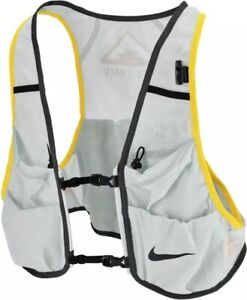 Nike Trail Running Vest   Aura - Diffused Blue - Speed Yellow   Mens Size M