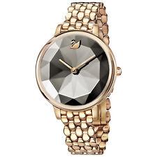 Swarovski 5416023 Crystal Lake Watch,Metal Strap, Gray, Rose Gold Tone RRP$649