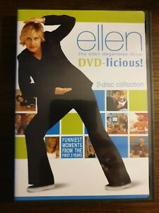 ellen degeneres show dvd licious funniest moments new and half sealed free post