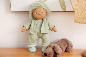 Adventure Sweats Hood Jacket & Matching Pants Clothes To Fit Dinkum Dolls Doll
