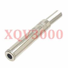 "2pcs Audio video Connector 6.35mm jack female TS 1/4"" mono speaker cable Ni"