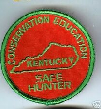 Old KENTUCKY patch SAFE HUNTER Conservation Education