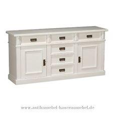 Sideboard,Lowboard,Halbschrank,Anrichte,Schrank,Massiv,Holz,Landhausmöbel,weiß