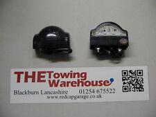 COPPIA (2) 12 & 24 VOLT LED Posteriore Numero Targa Luce / Lampada-Rimorchi / Roulotte / trikes