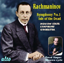CD RACHMANINOV SYMPHONY 1 ISLE OF THE DEAD KOGAN MOSCOW STATE SYMPHONY ORCHESTRA