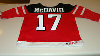 Canada 2015 World Juniors Hockey Jersey IIHF Connor McDavid Red 12 Months Infant