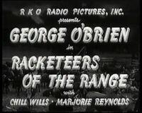 DVD Racketeers of the Range ( George O'Brien, Chill Wills,Marjorie Reynolds)
