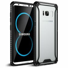 Samsung Galaxy S8 Case Poetic Affinity Series Shockproof TPU Bumper Cover Black