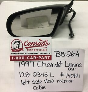 USED Vintage Chevrolet Lumina 1997' Left side view mirror (drivers Quality)