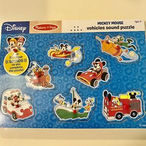 Melissa And Doug Disney Sound Puzzle - Toddlers