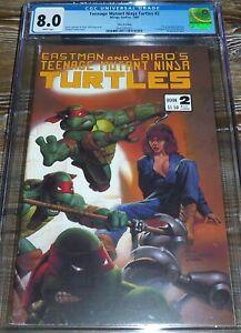 Teenage Mutant Ninja Turtles #2 CGC 8.0 (1986) 3rd Print Mirage Studios Comics