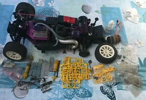 KYOSHO TAMIYA T2M? Voiture RC Thermique. HS.