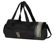 Adidas Juventus Duffle Medium Bags Black Running Cross Bag CR7 GYM Sacks CY5560