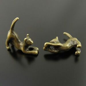 Antiqued Style Red Copper/Bronze Alloy Multi-type Cat Charms Pendant Hot Sale