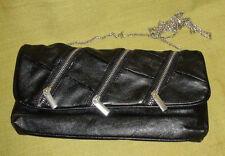 Black Zipper Bag - FREE postage