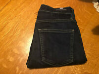 CITIZENS OF HUMANITY ROCKET HIGH RISE SKINNY STRETCH CROP JEANS 26 X 24 NICE!