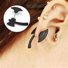 1pc Punk Cool Axe Hatchet Fashion Mens Womens Ear Stud Earring Piercing Jewelry