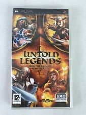 PSP Untold Legends: Brotherhood of the Blade, UK Pal, Brand New & Factory Sealed