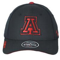 NCAA Zephyr Arizona Wildcats Black Flex Fit Stretch Small Medium Curved Hat Cap