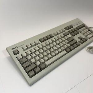 Vintage Dell Quiet Key SK-8000 Keyboard #035KKW PS2 PS/2 Connector QuietKey