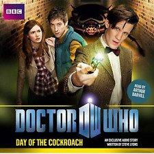 DOCTOR WHO - DAY OF THE COCKROACH - NEW BBC  AUDIO BOOK - READ BY ARTHUR DARVILL