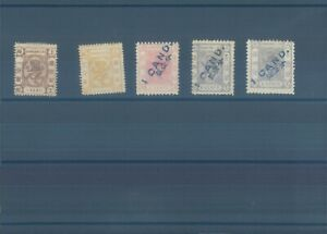 CHINA Shanghai 1867-1873 MNH stamps (CV $210 EUR180)