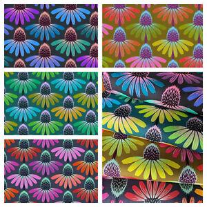 ECHINACEA - Love Always Anna Marie Horner Freespirit fabrics 100% cotton  floral